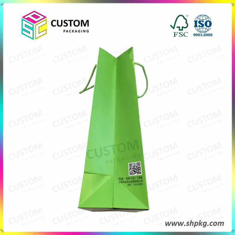 paper bag with nylon rope