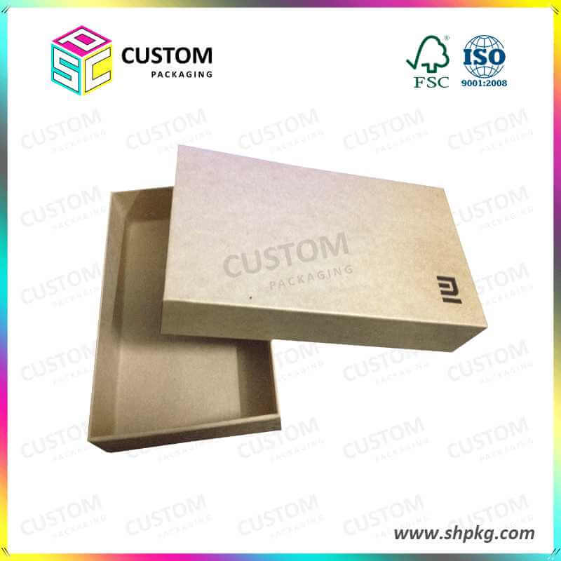 Eco Friendly Rigid Cardboard Packaging Box