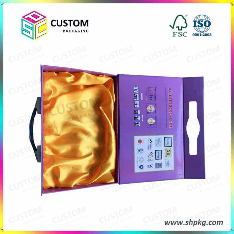 Gift Packaging Box with Crystal Handle