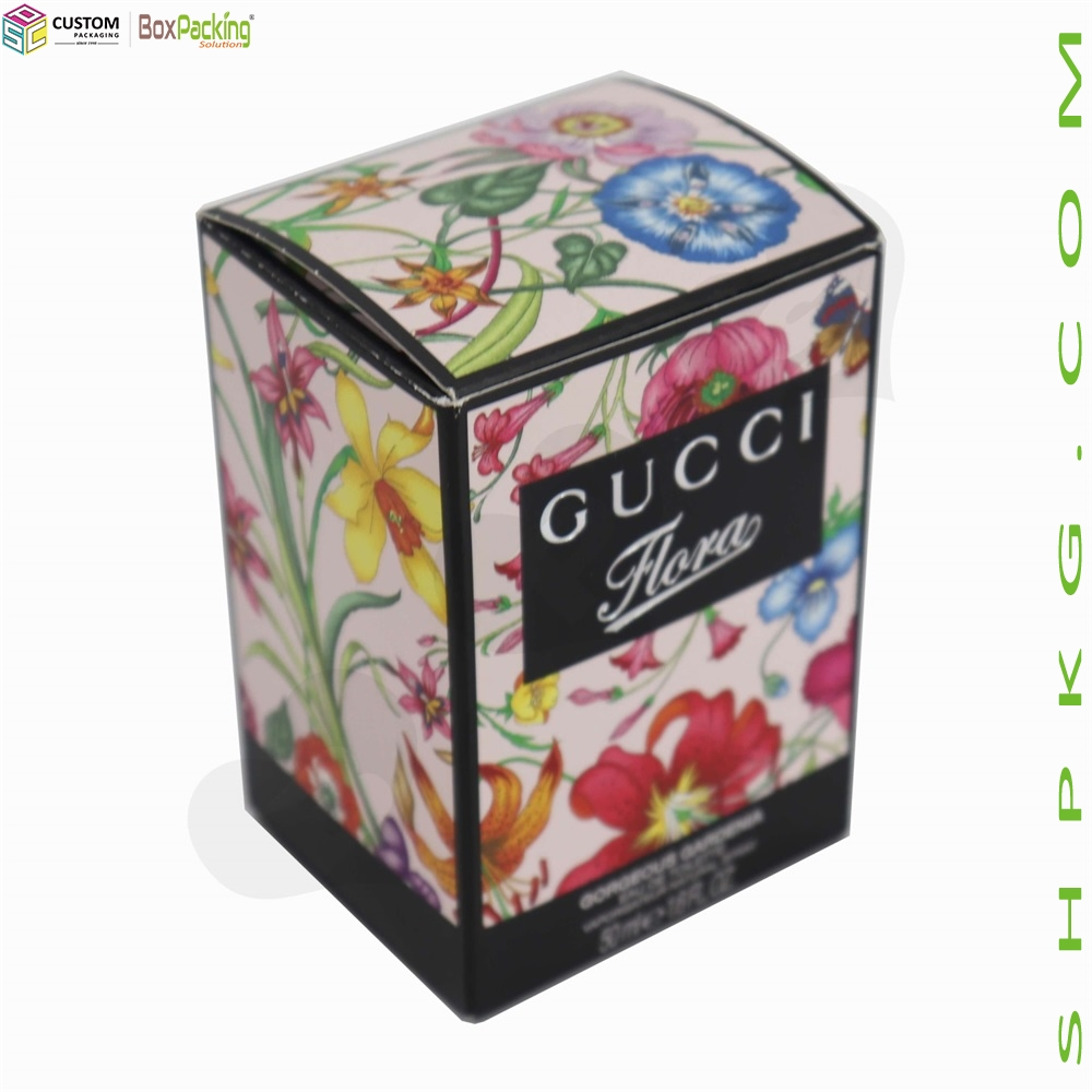 Luxury Perfume Packaging Box With Black Inserts-Shanghai