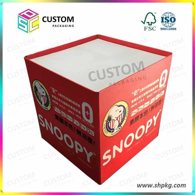 PDQ-Supermarket Pallet PDQ Display Trays for Snoopy Products