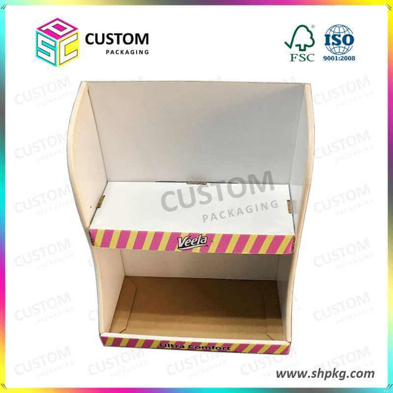 Paper Display Box for Sanitary Napkins VEELA