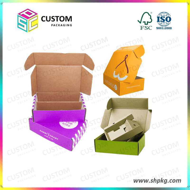 Corrugated Mailer Style Boxes