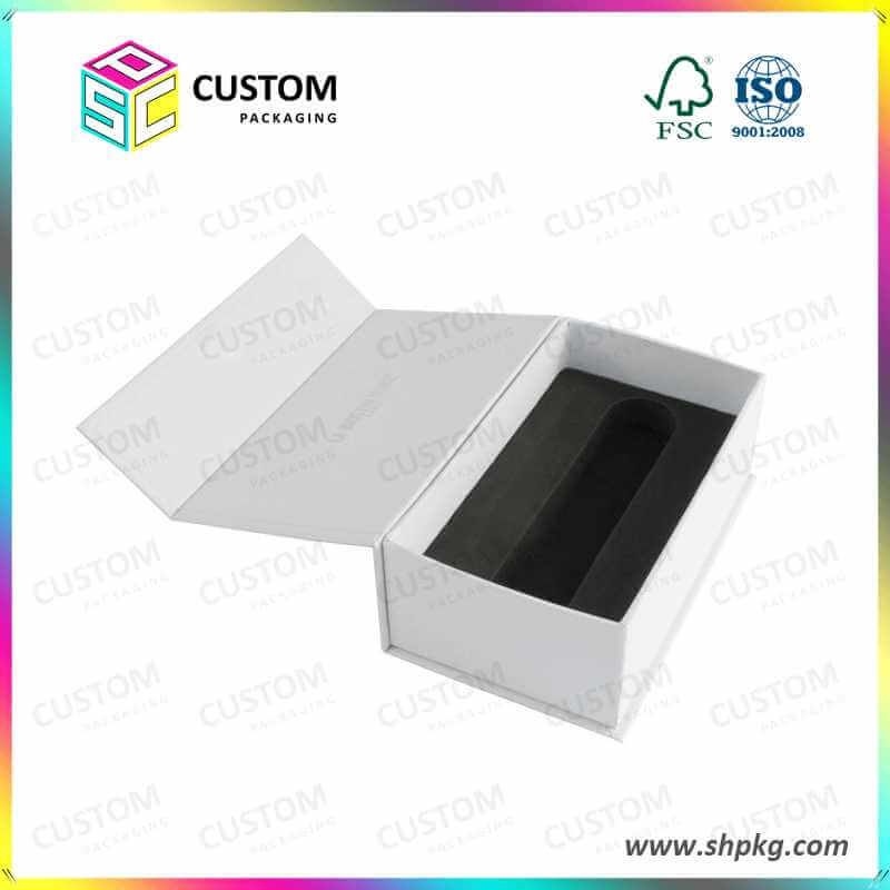 Foam lining rigid paper box
