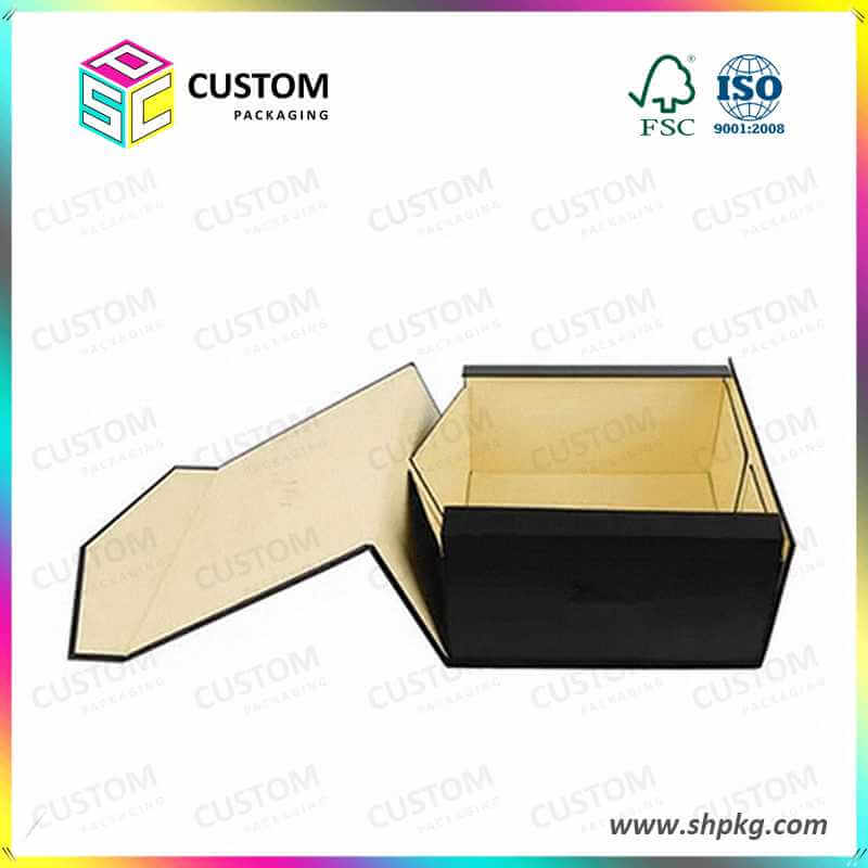Foldable rigid boxes