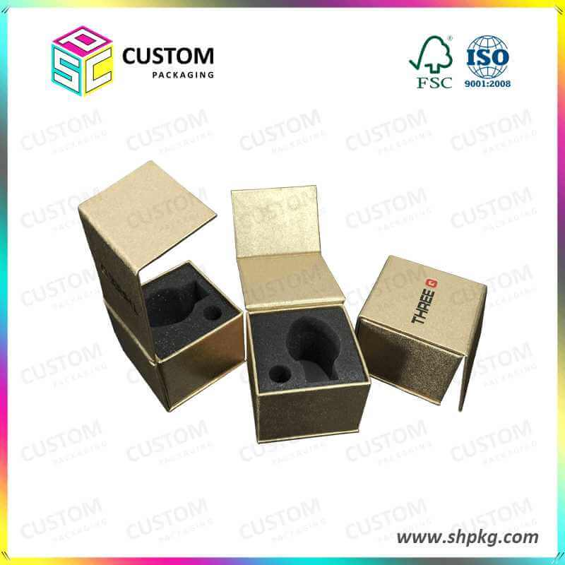 Golden specialty paper coated paper box