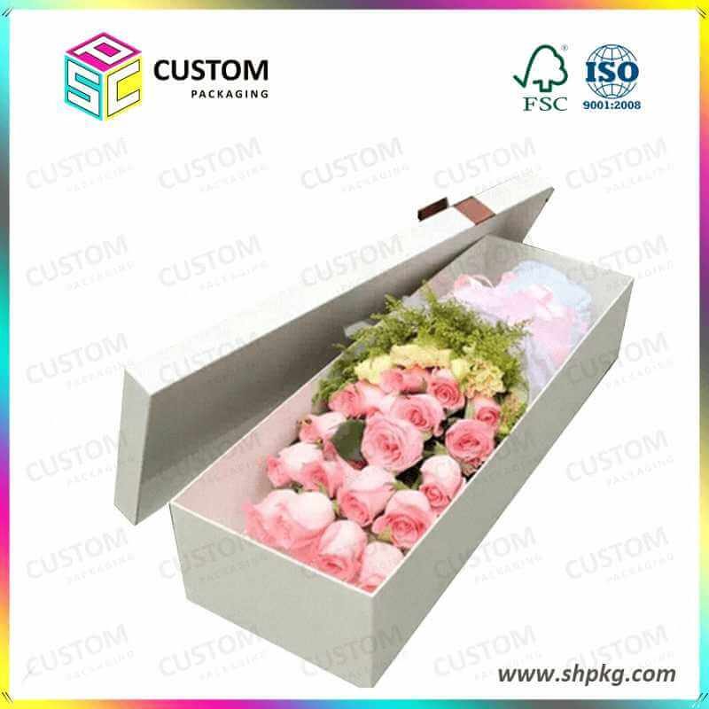 Rose box flower gift box