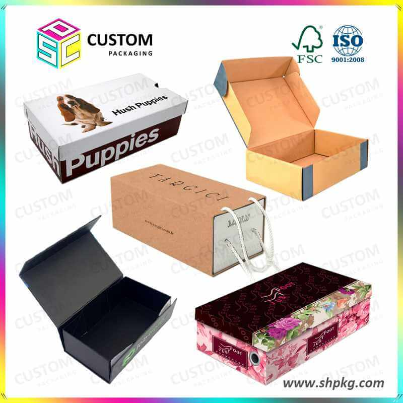 China wholesale customized cardboard shoe boxes supplier